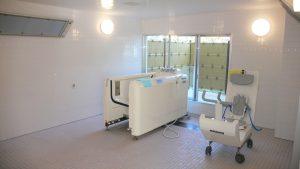 介護老人保健施設はまなす 1F機械浴室